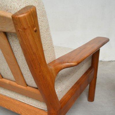 B B Möbel vintage armchairs by s burchardt nielsen for möbel bb fabrik 1970s