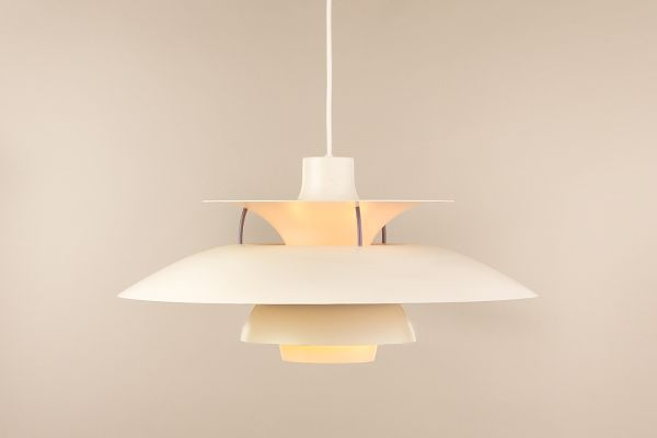 Vintage PH5 Pendant Lamp By Poul Henningsen For Louis Poulsen 1960s 2
