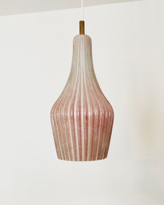 Murano Glass Pendant Lamp 1950s 2