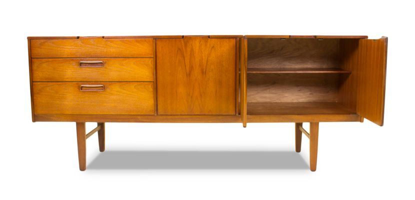 Mid Century Corsican Teak Sideboard From Nathan 10