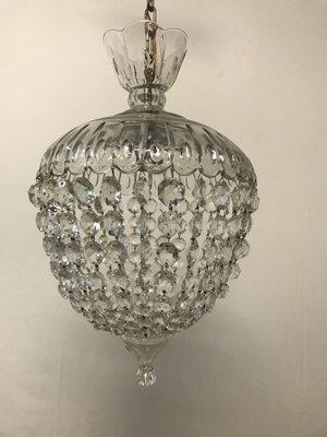 Italian vintage murano glass crystal light pendant for sale at pamono italian vintage murano glass crystal light pendant 12 aloadofball Image collections