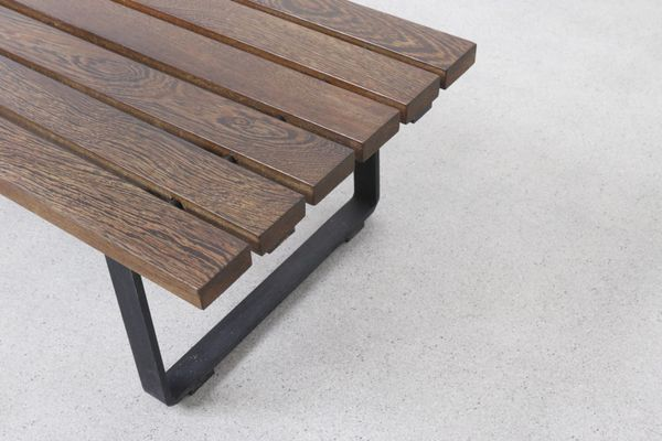 s century mid slat on walter for arspect shop bench antonis by