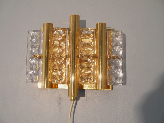 Vintage Wall Sconces From Orrefors, Set Of 2 1
