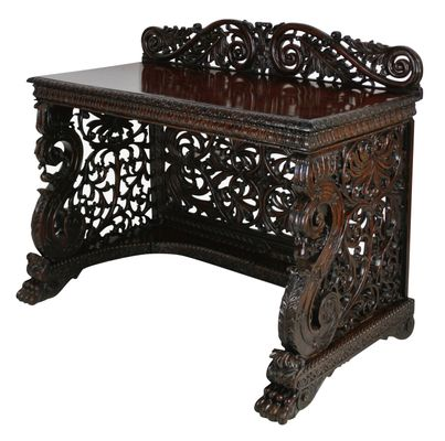 Antique Console Table 1830s for sale at Pamono