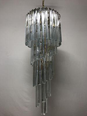 Vintage crystal trilobi spiral chandelier by paolo venini for sale vintage crystal trilobi spiral chandelier by paolo venini 1 aloadofball Images
