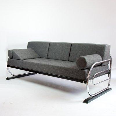 Exceptional Vintage Bauhaus Style Sofa 2