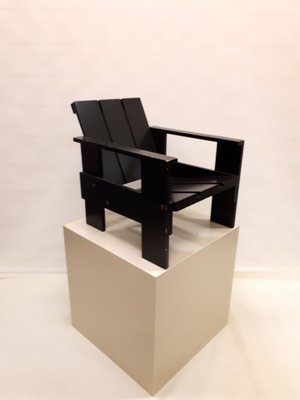 Vintage Junior Crate Chair By Gerrit Thomas Rietveld For Rietveld 2