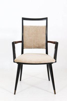 Mid Century Modern Armchairs, 1950s, Set Of 4 1