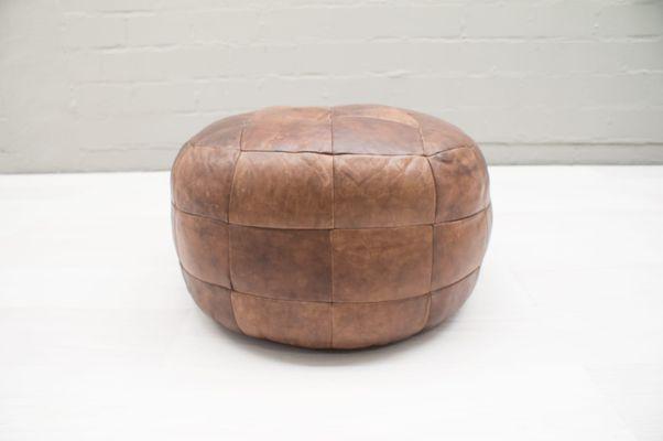 Pouf Leder pouf leder awesome excellent finest machalke designer footstool