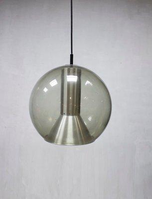 Large Dutch Globe Pendant Lamp By Frank Ligtelijn For Raak 1960s 1