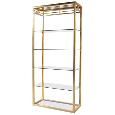product brass wholesale bookshelf bookcase fitting furniture fitted showcase acacia wood bookrack