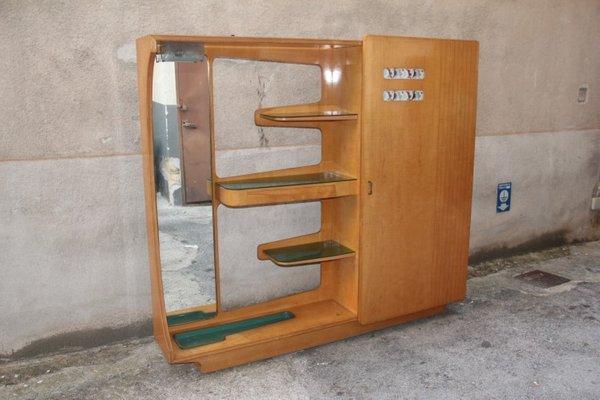 Mobile da ingresso vintage con specchio, Italia, anni \'50 in vendita ...