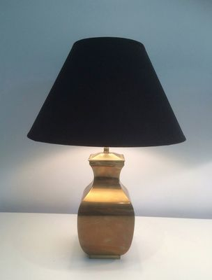 Post modern brass table lamps set of 2 2