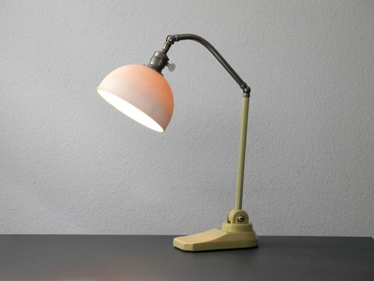 Art deco bauhaus articulated table lamp 1940s 2