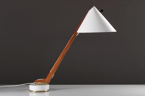 Lampe de bureau vintage par hans agne jakobsson pour markaryd en