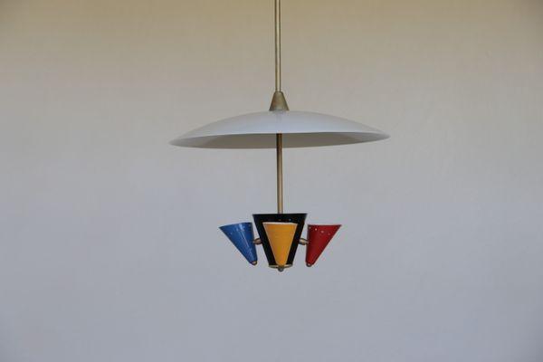 Vintage Italian Pendant Light 1960s 10