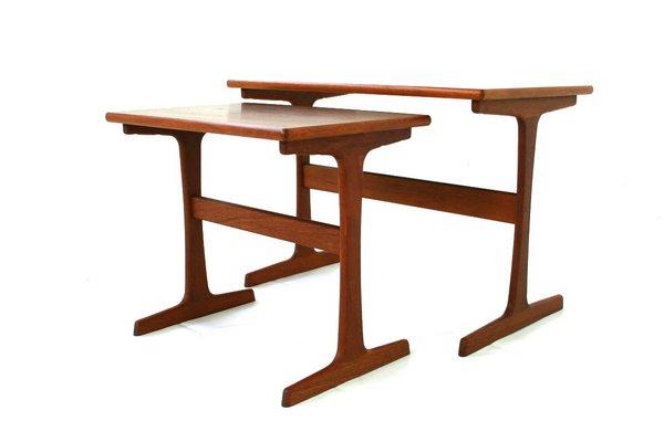 Midcentury Nesting Tables By Arne Wahl Iversen For Vinde Mobelfabrik 1