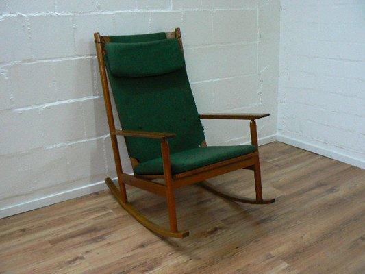 Mid Century Rocking Chair By Hans Olsen For Juul Kristensen, 1963 1