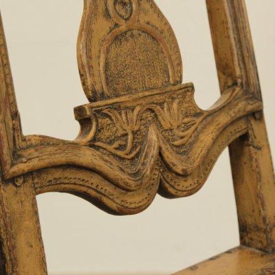 Antique Swedish Baroque Chairs, Set Of 2 11