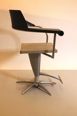 Sedia girevole con posacenere di Philippe Starck in vendita su Pamono