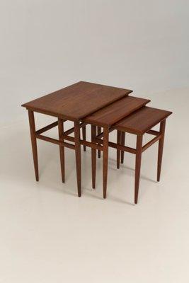 Mid Century Modern Danish Nesting Tables, 1960s 1