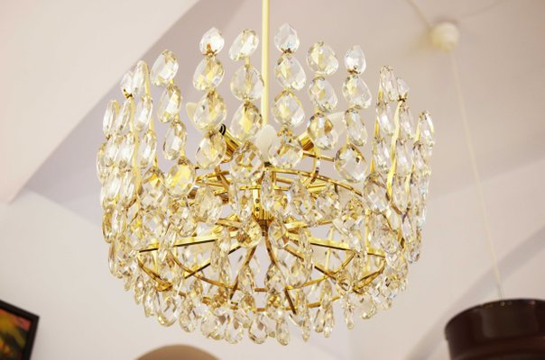 Austrian cut crystal chandelier from bakalowits shne 1960s for austrian cut crystal chandelier from bakalowits shne aloadofball Image collections