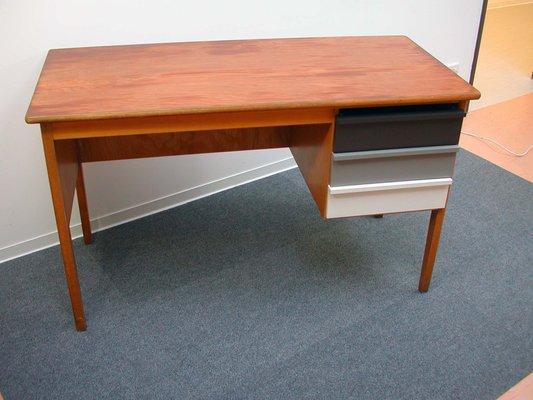 Vintage Wooden Teacher's Desk, 1960s 12 - Vintage Wooden Teacher's Desk, 1960s For Sale At Pamono