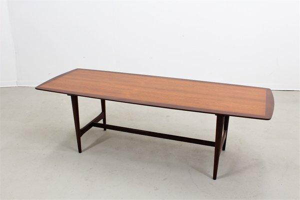 Vintage Large Danish Teak Coffee Table From Ilse Möbel 1
