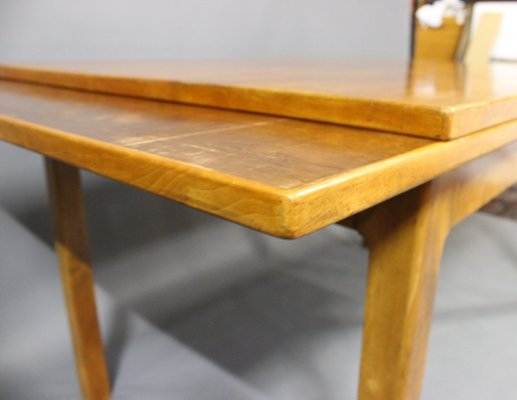 Extendable Danish Walnut Dining Table, 1940s 7