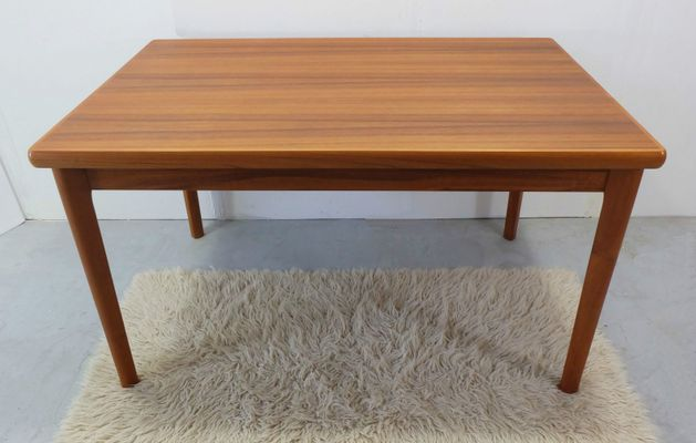 Danish Teak Dining Table With Two Extension Leaves, 1970s 1