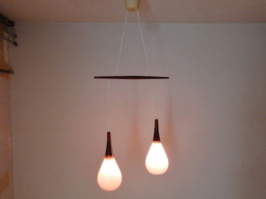 Dutch NGB 52 E 02 Pendant Light From Philips 1960s 2