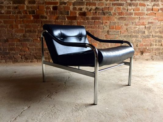 Mid Century Leather Armchair From Pieff, 1970s 2