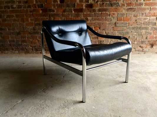 Mid Century Leather Armchair From Pieff, 1970s 3