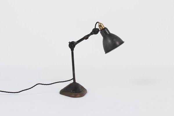 Model 207 Desk Lamp by Bernard Albin Gras for Ravel Clamart, 1930 ...