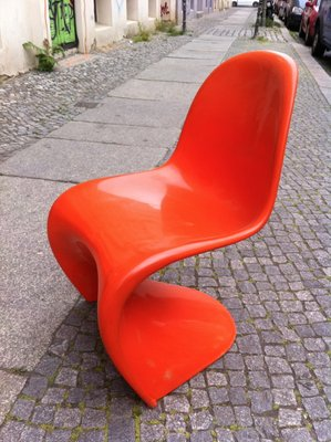 Verner Panton Panton Chair panton chair by verner panton for fehlbaum 1960s for sale at pamono