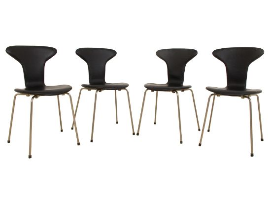 arne jacobsen furniture. 3105 Mosquito Chairs By Arne Jacobsen For Fritz Hansen, Set Of 4 Furniture U
