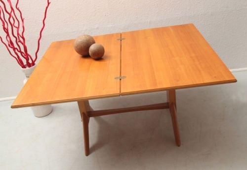 Mid Century Cherry Wood Coffee Table From Wilhelm Renz, 1950s 3