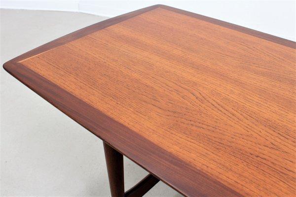 Vintage Large Danish Teak Coffee Table From Ilse Möbel 10