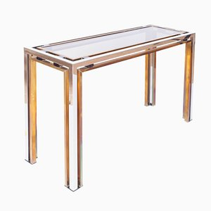 Vintage Console Table by Romeo Rega