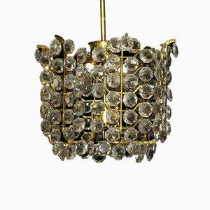 Lámpara colgante de cristal de J. & L. Lobmeyr