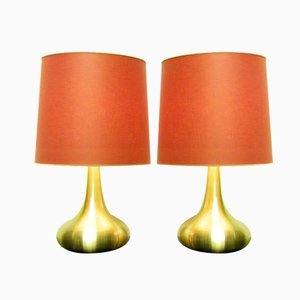 Large Orient Table Lamps by Jo Hammerborg for Fog & Morup, Set of 2