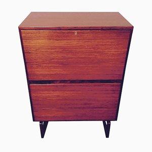 Danish Rosewood Secretaire Desk by Arne Hovmand Olsen for Mogens Kold Mobelfabrik, 1960s