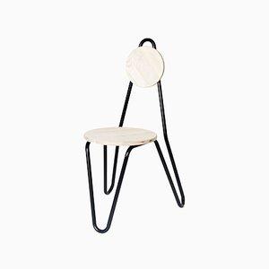 Black CF02 Chair by Chmara.Rosinke
