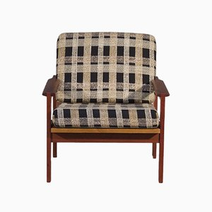 Danish Capella Chair by Illum Wikkelsø for N. Eilersen, 1950s