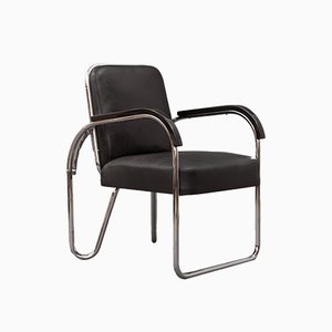 Foldable Bauhaus Chair from DS Staal, 1930s