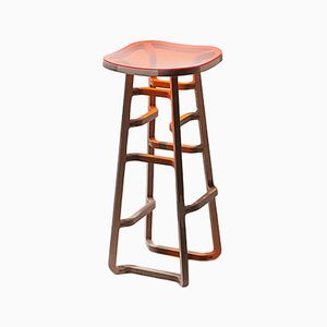 Tabouret de Bar Woodini One of a Kind par Bakery Studio