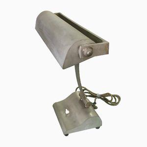 Vintage Industrial Adjustable Brass Table Lamp