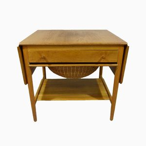AT-33 Sewing Table by Hans J. Wegner for Andreas Tuck