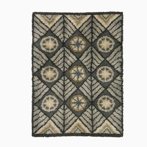 Mid-Century Swedish Rya Carpet