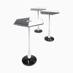 Perspectiva Tisch in Schwarz & Weiß von Fedele Papagni für Fragile Edizione